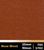 Rose Wood 25m cod 703 | Rose Wood 50mm cod 5703