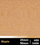 Maple 25mm cod 409 | Maple 50mm cod 5409
