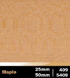 Maple 25mm cod 409   Maple 50mm cod 5409