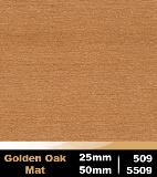 Golden Oak Mat 25m cod 509   Golden Oak Mat 50mm cod 5509