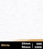 White 25mm cod 009 | White 50mm cod 5009