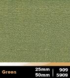 Green 25mm cod 909 | Green 50mm cod 5909