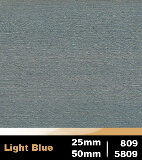 Light Blue 25mm cod 809 | Light Blue 50mm cod 5809