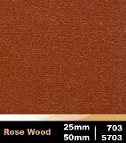 Rose Wood 25mm cod 703 | Rose Wood 50mm cod 5703