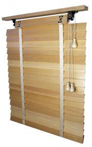 Jaluzele orizontale din lemn RETRO 50mm